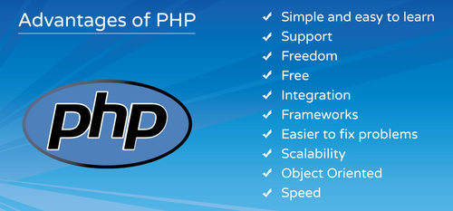 What are the advantages of using PHP?